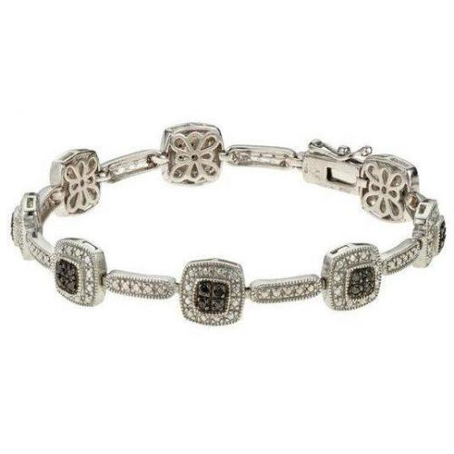 Fabiani Diamant-Armband Sterling Silber 925