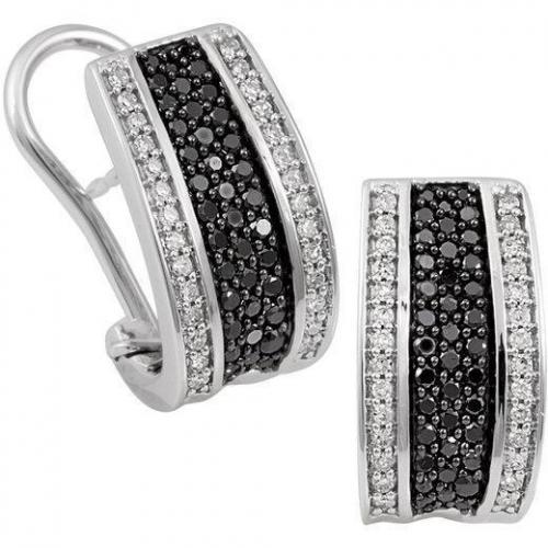 Fabiani Diamant-Halbcreole Gold 585