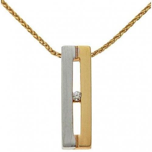 Fabiani Diamant-Kette Gold 333