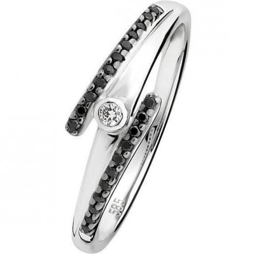 Fabiani Diamant-Ring Weissgold 375