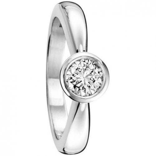 Fabiani Diamant-Ring Weissgold 585