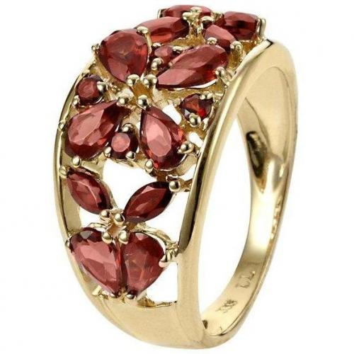 Fabiani Ring Gold 333 Granat