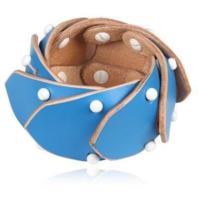 Fleet Ilya Jointed Cuff Armband blau