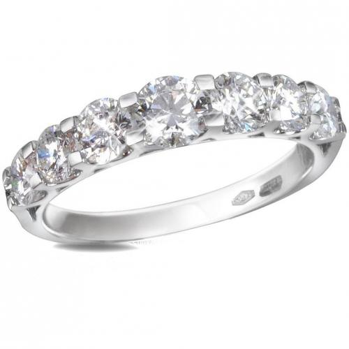 Forzieri 18k Goldring mit Diamanten 1.33ct