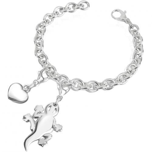 Forzieri Geko Armband in Silber