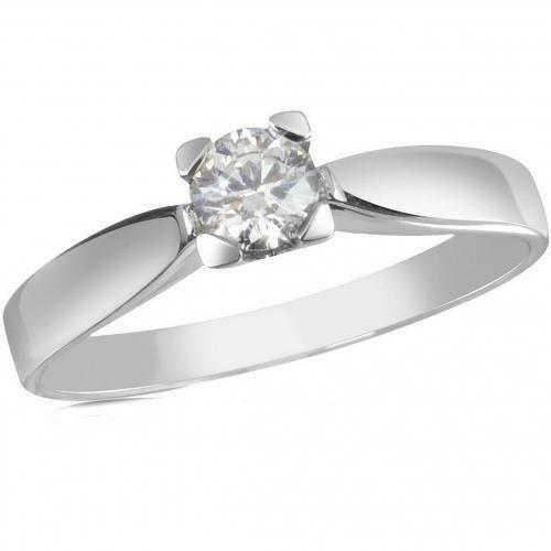 forzieri ring aus 18k gold mit diamanten stein. Black Bedroom Furniture Sets. Home Design Ideas