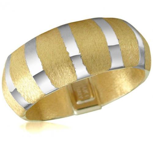 Forzieri Zweifarbiger Ring aus 14K Gold