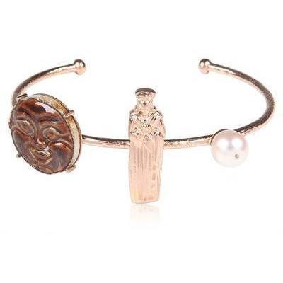 Francesca Villa Asso Rosa Gold Armband