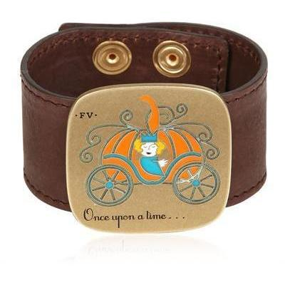 Francesca Villa the Princess In the Pumpkin Leder Armband