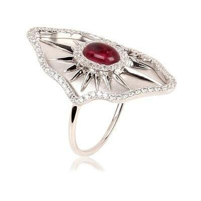 Gaydamak Jewellery Gold, Diamant und Cabochon Ring