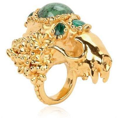 Gisele Ganne Totenkopf Ring