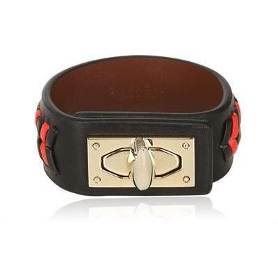 Givenchy Braided Leder Armband
