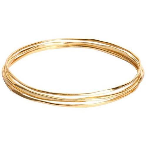 gorjana 5er-Armreif G Bangles gold