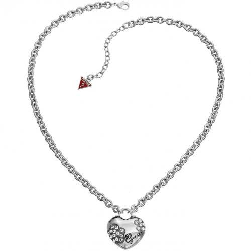 Guess Damen-Halskette 3D-Herz