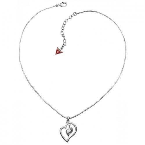 Guess Damen-Halskette abstraktes Herz