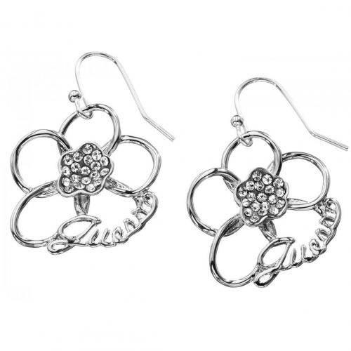 Guess Damen-Ohrringe offene Blüten