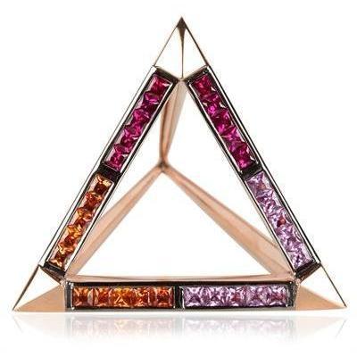 Hannah Martin Euphoria Of Lights Triangel Ring