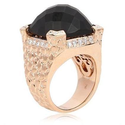 Hellmuth schwarzer Magic Ring