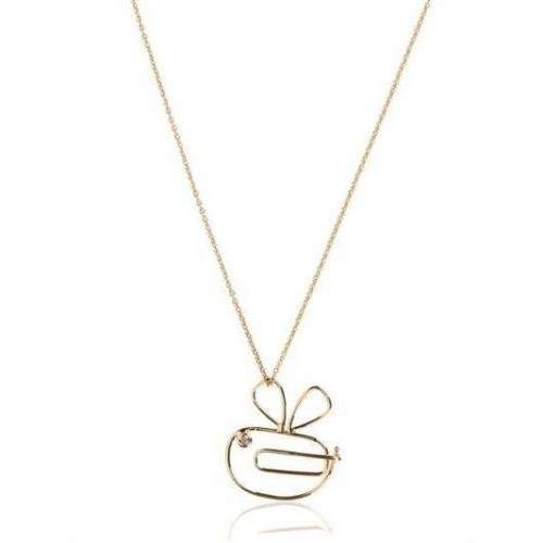 Hillier Paperclip Bumble Bee Kette