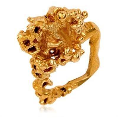 Imogen Belfield Square Filigree Ring