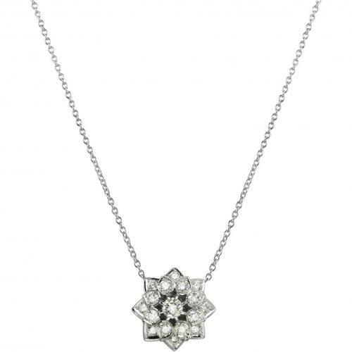 Incanto Royale Halskette aus 18k Gold mit Diamanten-Stern