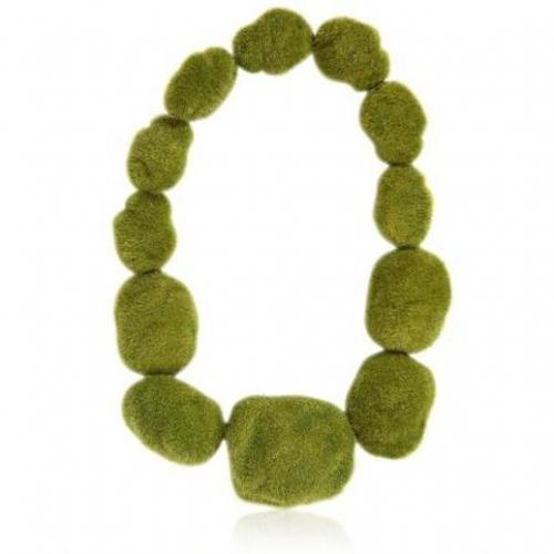 Ineke Otte Natur Kette grün
