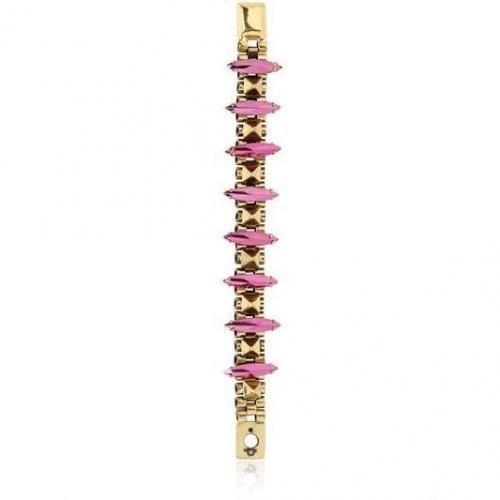 Iosselliani Armband mit Kristallen und Kette