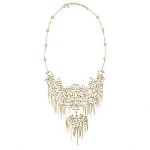 Isharya Halskette aus Vergoldetem Messing