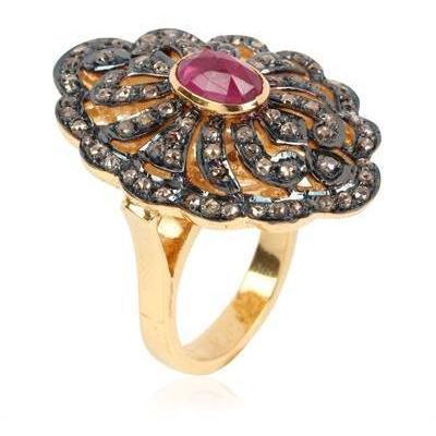 Jade Jagger Victorian Ring