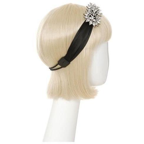 Jennifer Behr Haarschmuck Blütenmotiv Silber