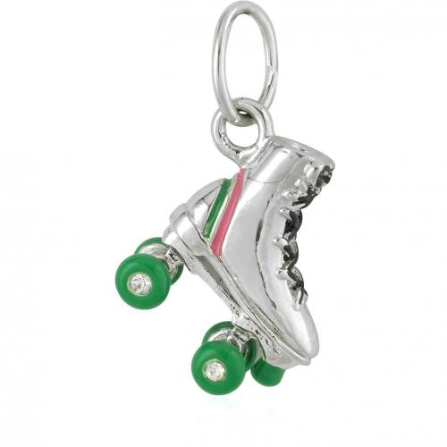 Juicy Couture Mini Rollerskate-Anhänger