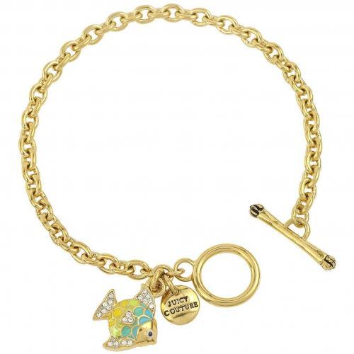 Juicy Couture Tropical Fish Mini Armband aus goldfarbenem Metall