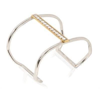 Kara Ross Einstellbares geometrisches Armband