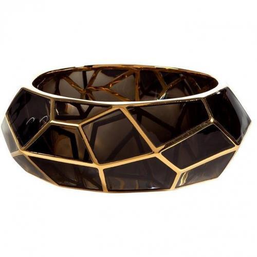 Lucas Jack Cairngorm Art Deco Gold Plated Armband
