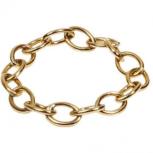 Mara Carrizo Scalise Gold Plated Chain Ring
