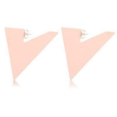 Maria Francesca Pepe Triangle Ohrringe