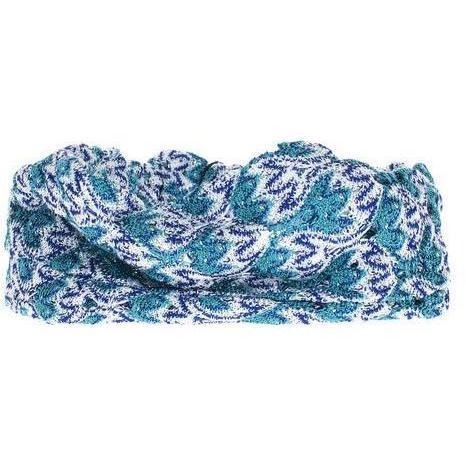 Missoni Crochet Turquoise Blue