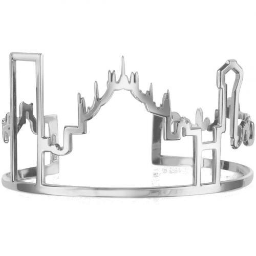Mita Marina Milano Skyline Milano Armband aus Sterlingsilber