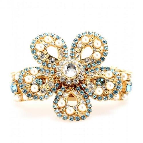 Miu Miu Kristall-Armband Blau