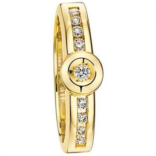 Moncara Diamanr-Ring Gold 585