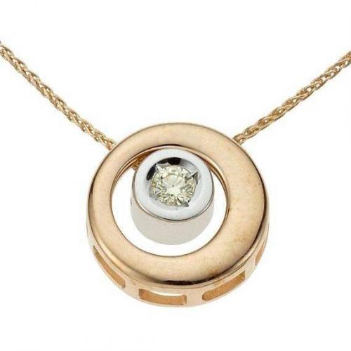 Moncara Diamant-Anhänger Gold 375