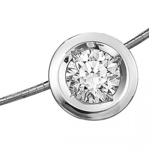Moncara Diamant-Anhänger mit Reif Gold 585