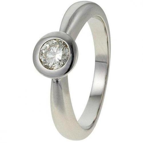 Moncara Diamant-Ring Weissgold 585