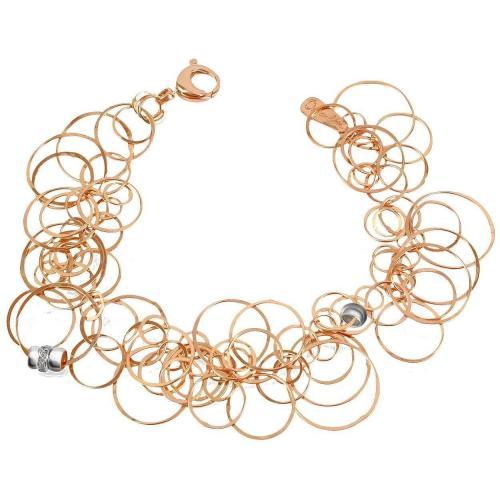 Orlando Orlandini Scintille Armband aus 18k Rosegold mit Diamanten