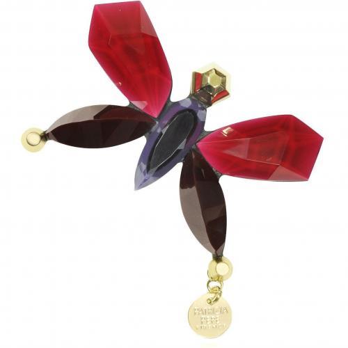 Patrizia Pepe Butterfly Astro Ruby Brosche