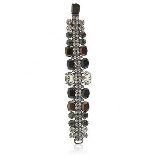 Paula Bianco schwarze Kristall Armband