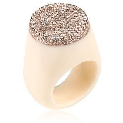 Raffaella Mannelli Bakelite und Gold Ring