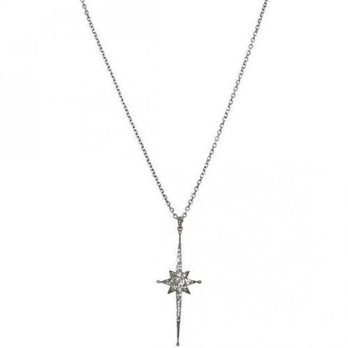 Renee Sheppard Sterlingsilberkette Long Star silver