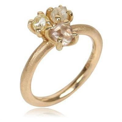 Roughdiamonds.Dk Diamant Blumen Ring