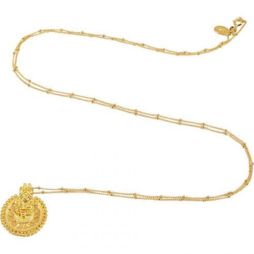 Satya Gold Mandala Halskette Sacred Infinite Cycle